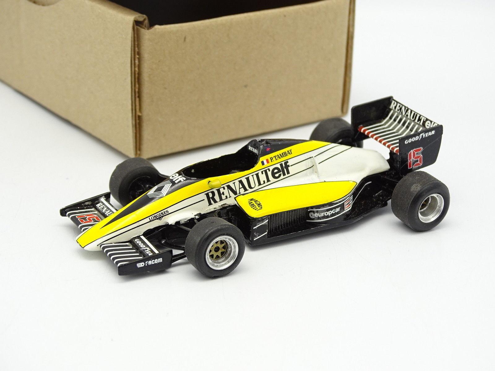 Meri Kit Montato 1 43 - F1 Renault RE 60 Portugal GP 1985 Tambay