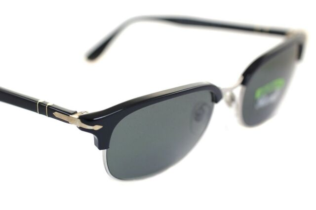 c588b187ad987 Frequently bought together. PERSOL CELLOR SERIES POLARIZED PO8139 95 58  55mm Mens Sunglasses BLACK GREY 3105