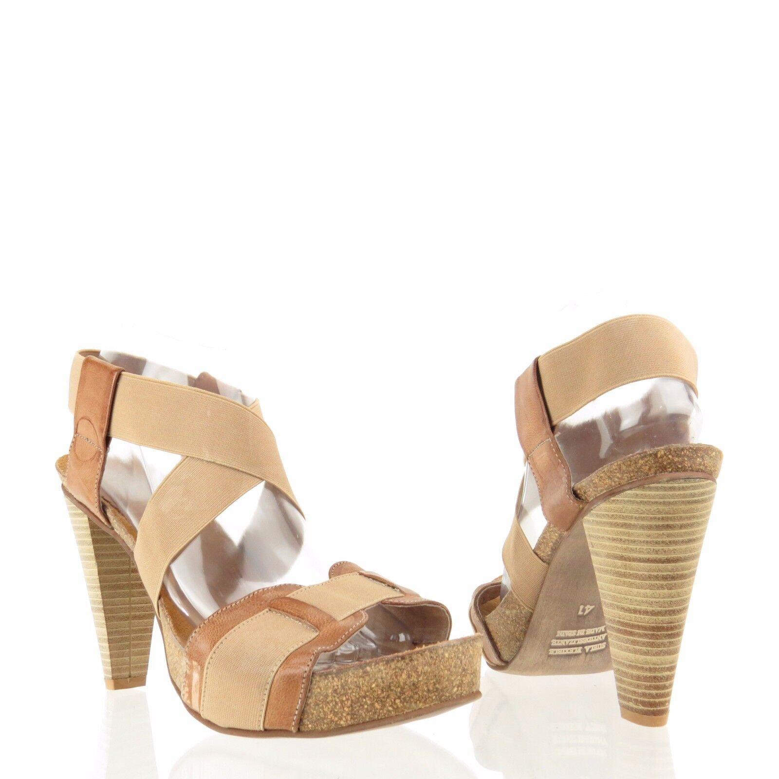 Ultimo 2018 Cordani Donna  scarpe Marrone Elastic Platform Heel Sandals Dimensione Dimensione Dimensione EU 41 NEW   Spedizione gratuita per tutti gli ordini