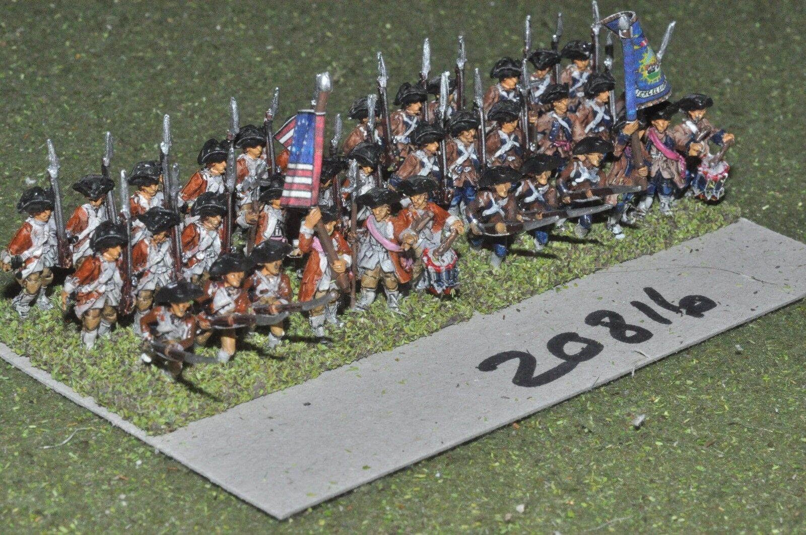 15mm AWI   american - infantry 36 figs - inf (20816)