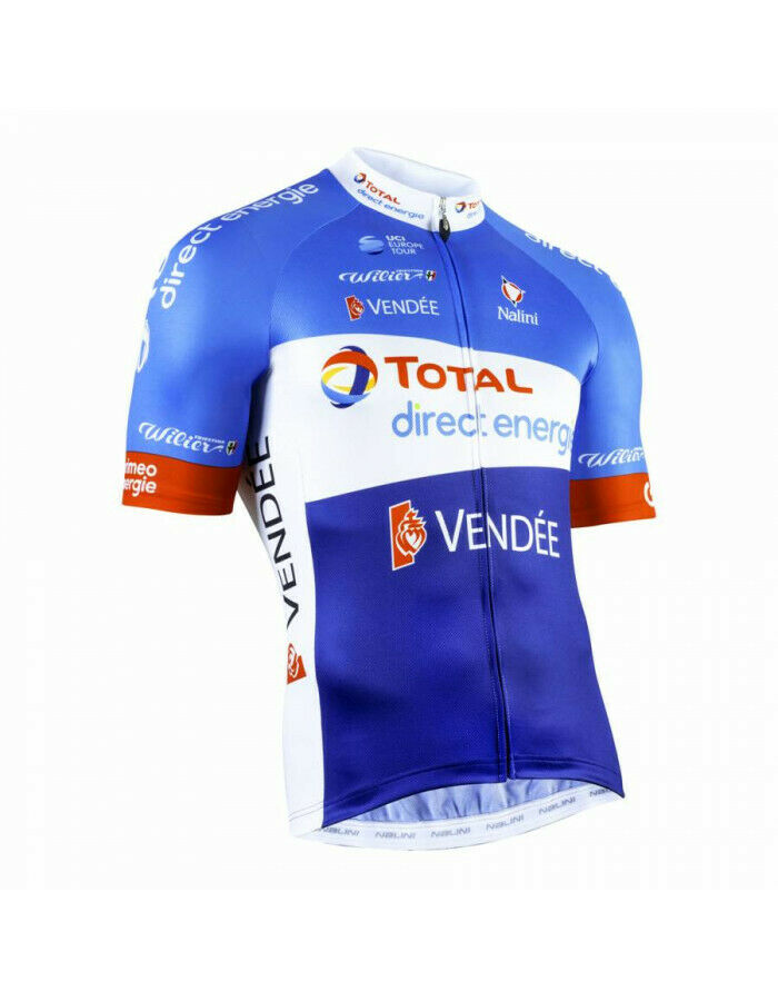 Maillot velo equipe total direct energy 2019 l - 4