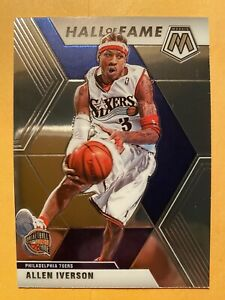 2019-20-Panini-Mosaic-Allen-Iverson-Hall-Of-Fame-287-MINT-WOW-MUST-SEE