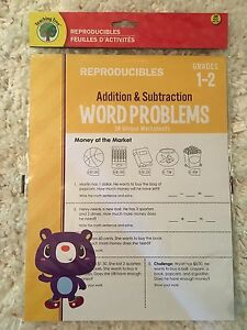 Grade 1-2 Addition and Subtraction Word Problems 38 ...