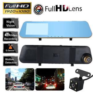 4-3-039-039-Touch-Screen-Car-Camera-HD-Mirror-Monitor-DVR-Vehicle-Recorder-Dash-Cams
