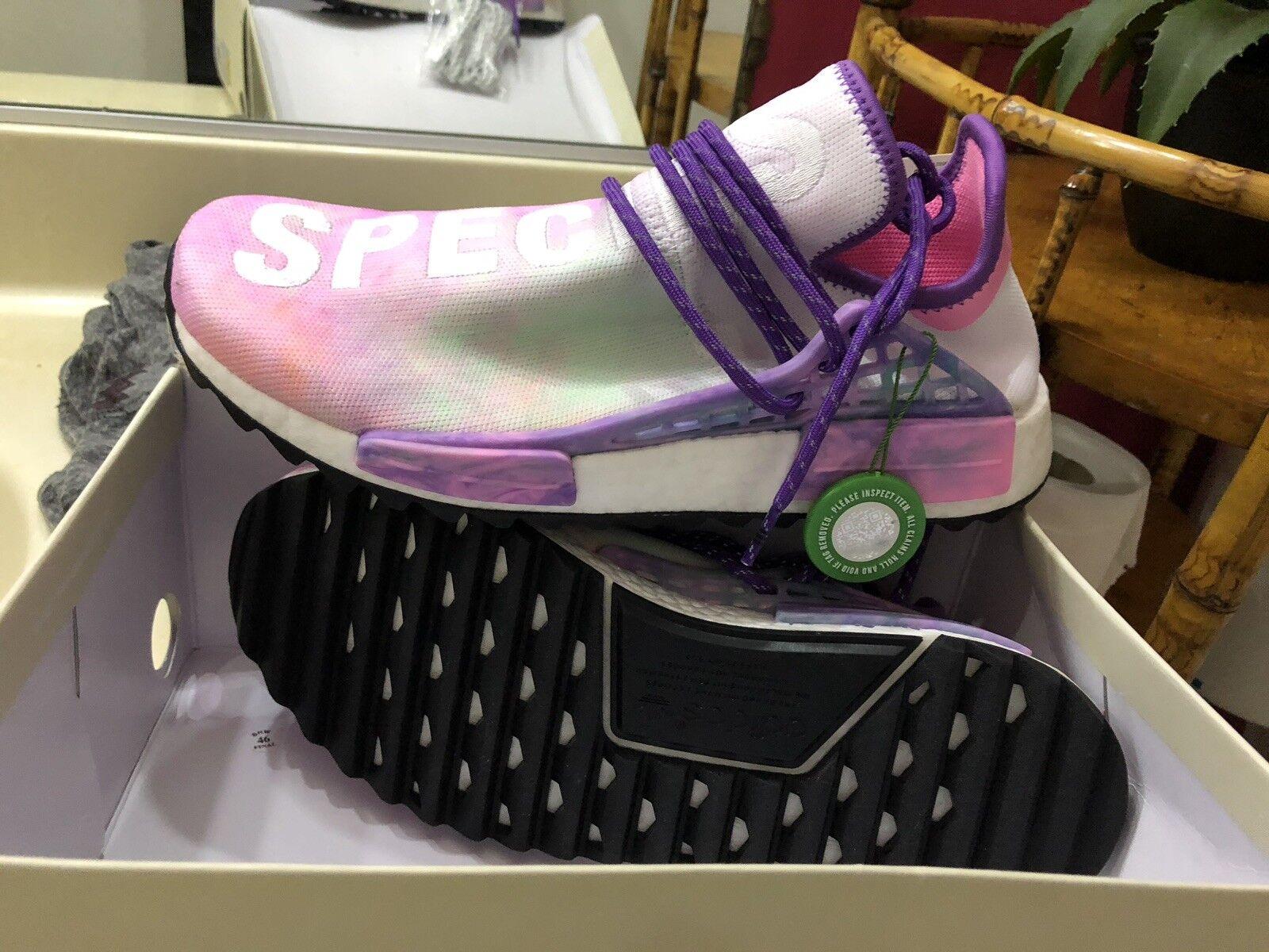 Adidas Adidas Adidas pharrell nmd hu menschheit holi rosa licht größe 9 us - mens solar b6216f