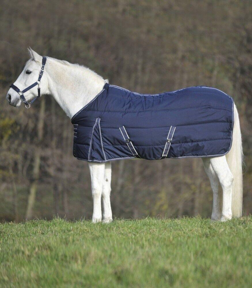 Stable Rug economic 200g Waldhausen Horse Fashion Navy Weiß NEW