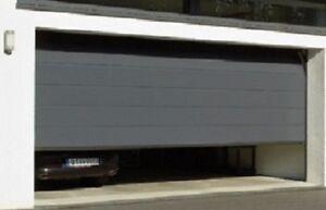 h rmann sektionaltor ged mmt 42mm mit antrieb in drei farben 5000 mm breit ebay. Black Bedroom Furniture Sets. Home Design Ideas