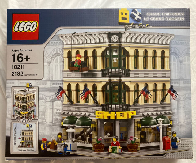 LEGO 10211: CREATOR EXPERT Grand Emporium (16+) - 2182 Pieces (New & Unused)
