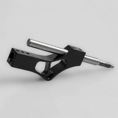 Black Manual Race Car Stick Shift Extension Lever Adjustable Gear Shifter Bar 1x
