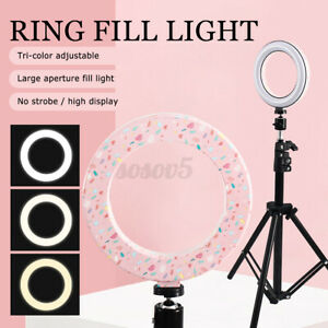 LED Ring Light Fill Light For Makeup Live Video Streaming Beauty Photography  #