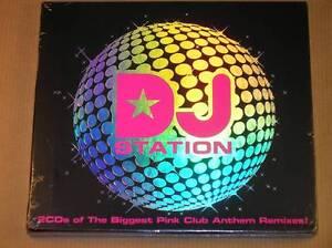 2-CD-DJ-STATION-BIGGEST-PINK-CLUB-ANTHEM-REMIXES-NEUF-SOUS-CELLO