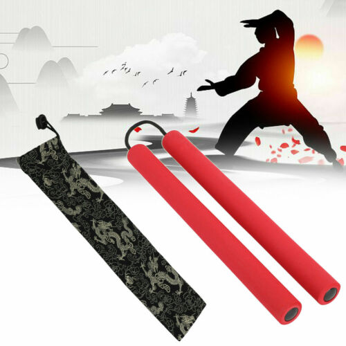 Foam Nunchaku Martial Arts Nunchucks Kungfu Practice Training Stick Rope Chain
