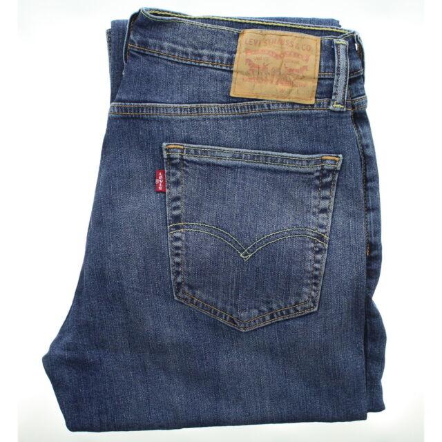 9ac50329450 Levis 514 Mens Jeans Slim Fit Straight Leg Light Blue Wash 32x32 for ...