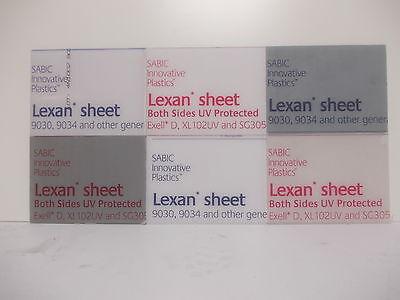 5 Pack 1.5 mm A4 Lexan Polycarbonate sheet 297 mm x 210 mm,Virtually unbreakable