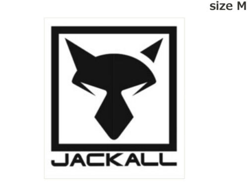 JACKALL Cutting Sticker Square size M #Black