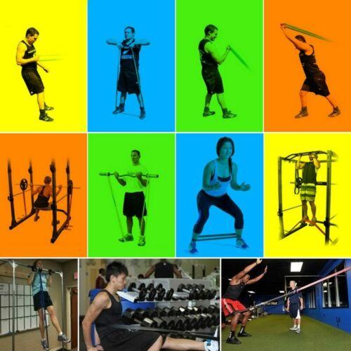 Bandes Exercice d/'entraînement résistance Set Fitness Yoga Sport Training Latex Band