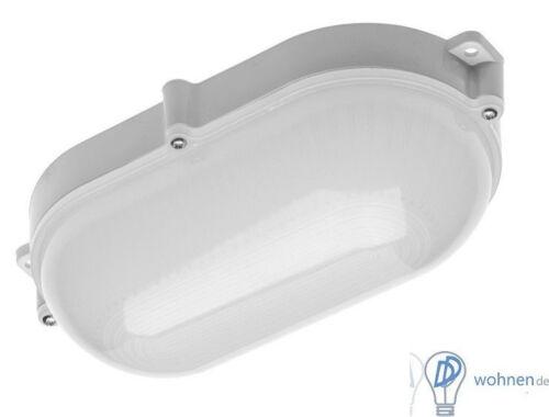 LED 10W Feuchtraumleuchte Kellerleuchte Aussen Leuchte Lampe IP65 Keller Oval