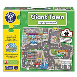 Orchard Toys Giant Ciudad Puzle Rompecabezas, Educativo, 3+ Años, Imaginativo