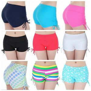 Summer Women s Swim Boy Shorts Swim Shorts Bottoms Pant Girl s ... bc789f1a7