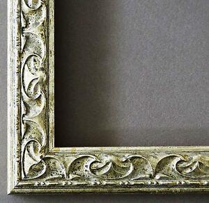 bilderrahmen rahmen foto urkunden holz antik barock mantova silber 3 1 ebay. Black Bedroom Furniture Sets. Home Design Ideas