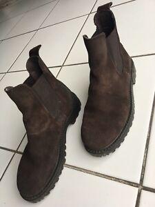 Hyfootwear Cire Cuir Boots d'équitation – Noir Enfant 3 z7Vwqs
