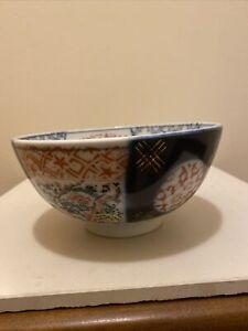 Antique Japanese Imari Hand Painted Porcelain Bowl