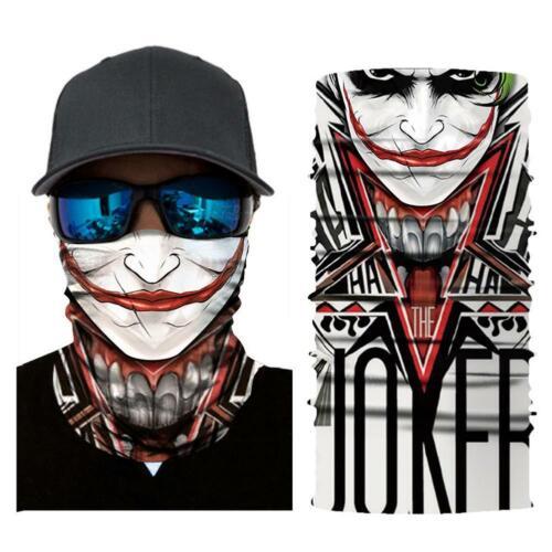 Radfahren Motorrad Schädel Kopftuch Halsrohr Gesichtsschutz Ski Stirnband Bandan