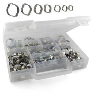 Coffret valise 210 colliers de serrage à oreilles tuyau Prevost