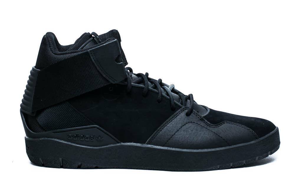 ADIDAS ORIGINALS CRESTWOOD MID homme CASUAL chaussures noir Bleu F37218