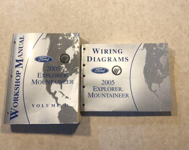 2005 Ford Explorer Mountaineer Workshop Service Repair