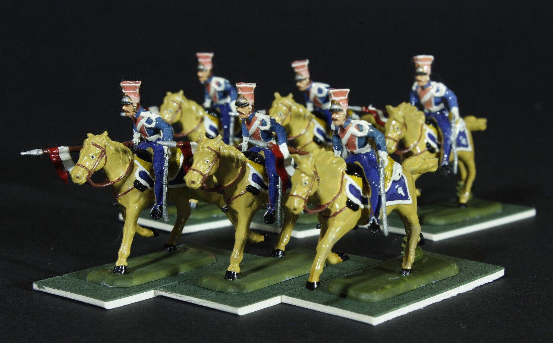 1 72 scale painted 12 Napoleonic French Polish Lancers ESCI PREMIUM QUALITY