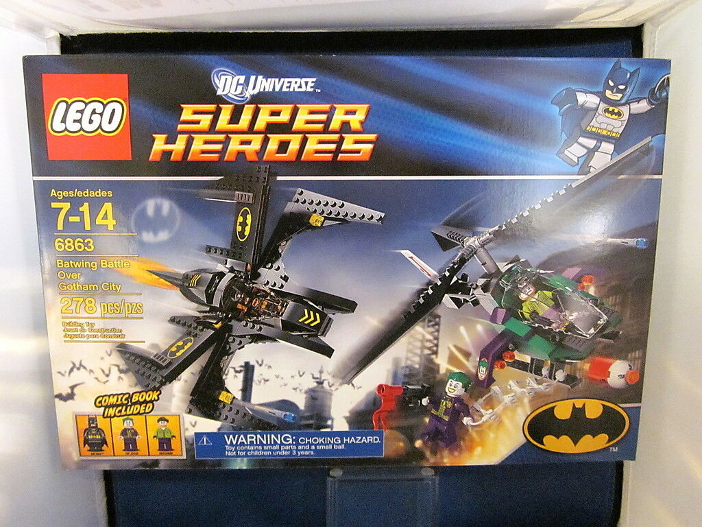 Lego 6863 DC Batwing Battle Over Gotham City On Hand