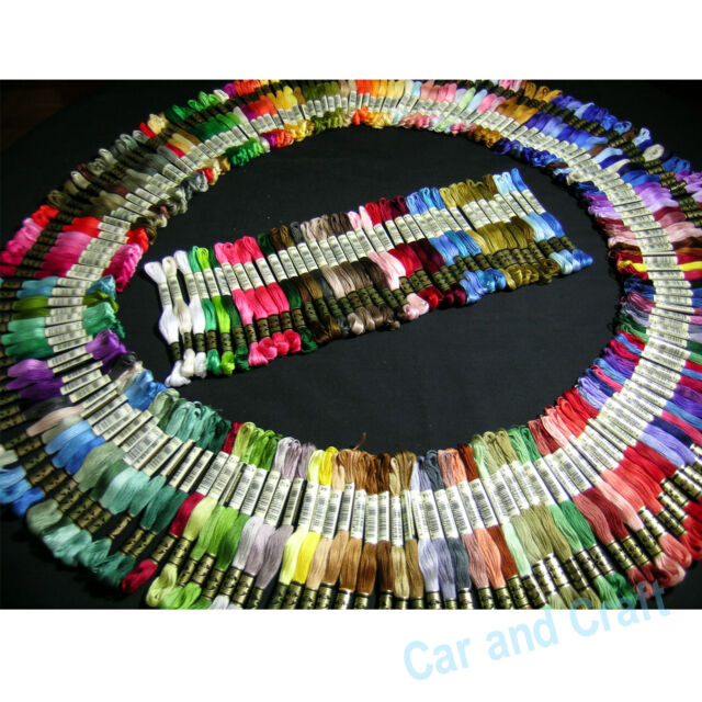 Pick ur Colour,100 Skeins DMC Embroidery Floss Thread Cross Stitch Fill Wishlist