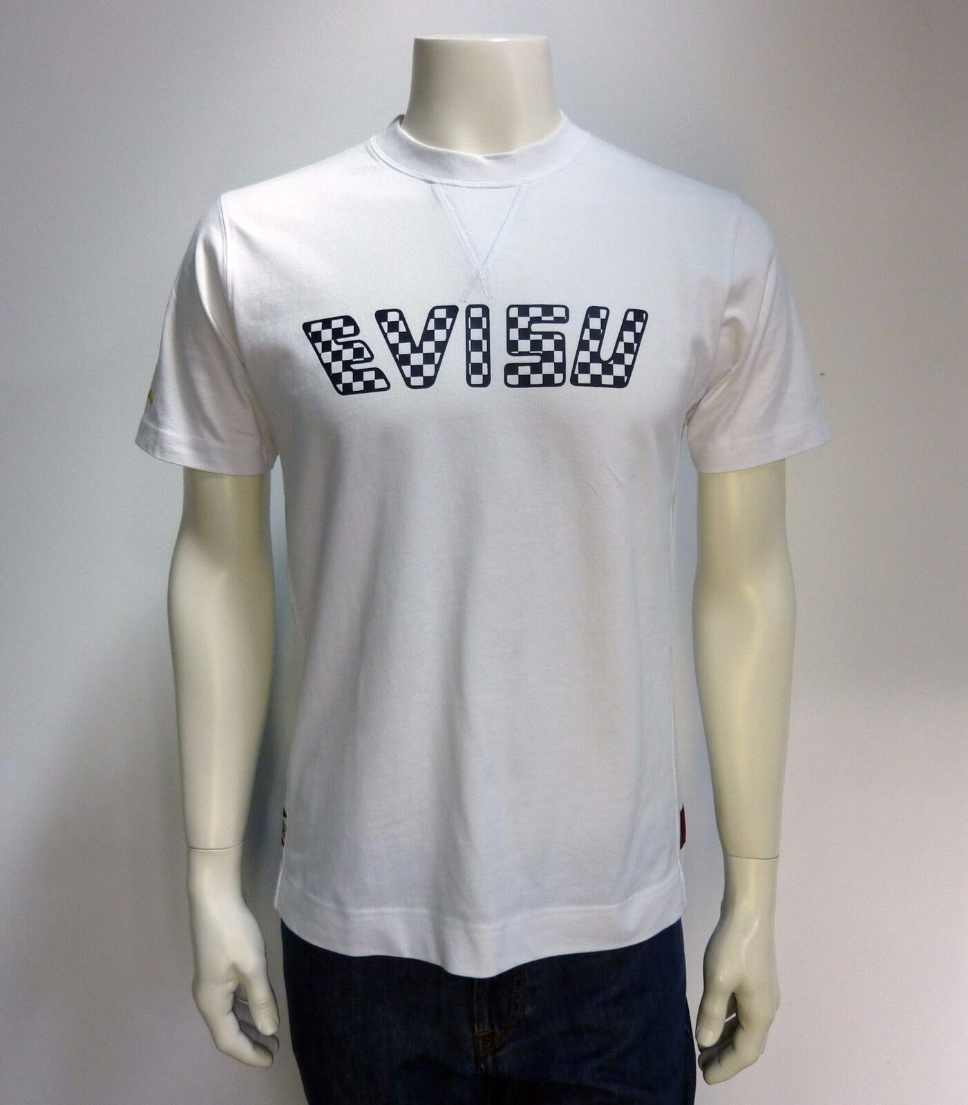 EVISU t-shirt L wit NIEUW+LABELS np