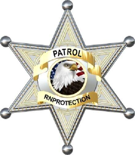 Sheriff Badge Police Officer  Cornhole Board Game Decal Set Super Nice Image