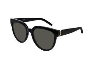 9e94cb3e6af sunglasses Yves Saint Laurent SL M28 black gray 003 889652180861 | eBay