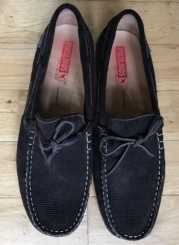 PIKOLINOS BROWN SIZE Uomo LOAFERS SIZE BROWN 46 US 13 0824aa