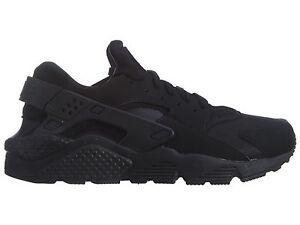 Nike Air Huarache Mens 318429-003 Black Textile Athletic Running Shoes Size 11