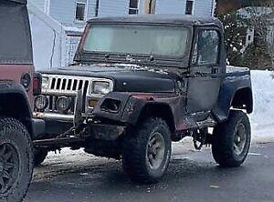 1994 Jeep Wrangler islander
