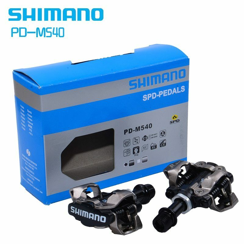 SHIMANO PD-M540 SPD MTB Bike Clipless Pedals + SM-SH51  Cleats SP22  buy brand