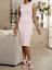 Ashro Peach Blush Formal Rose Brocade Charmaine Jacket Dress 10 12 16 16W 18W 22