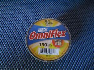Zebco Omniflex High Strength Monofilament Fishing Line 50 LB 150 YDS Clear 2