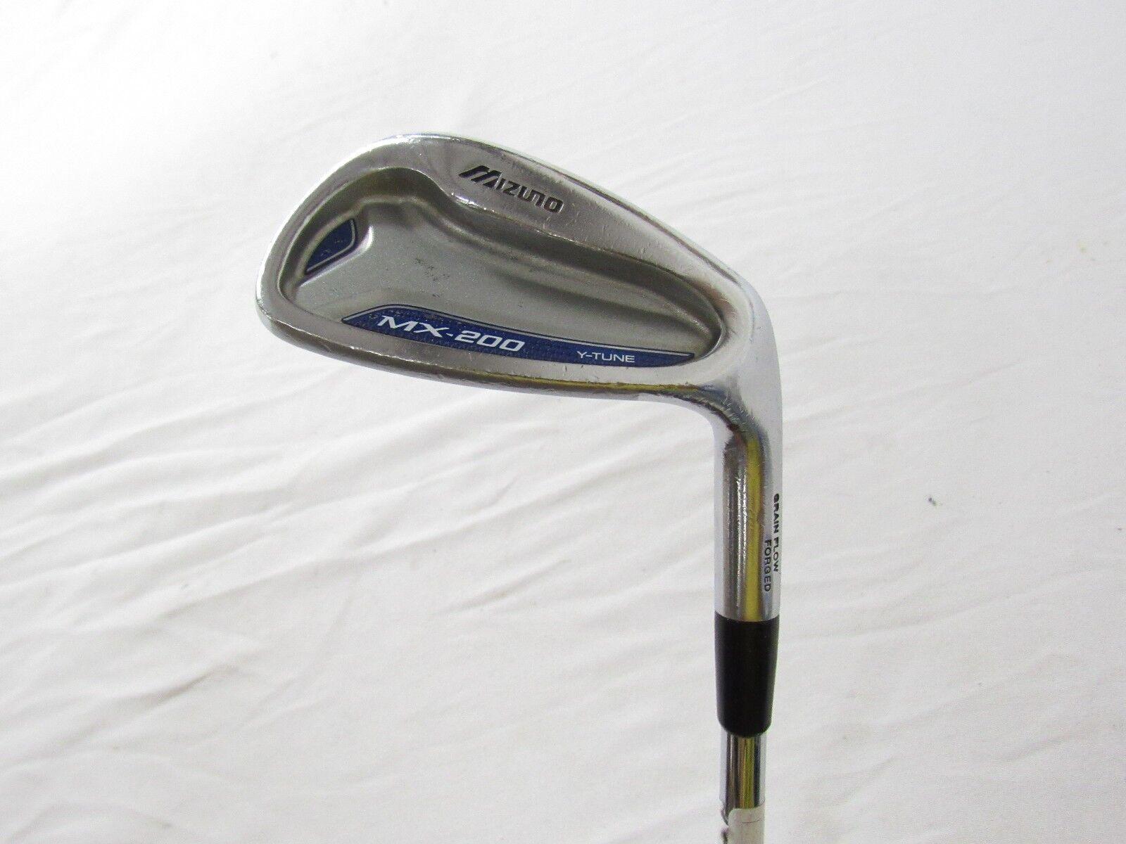 Utiliza la mano derecha Mizuno MX-200 Gap G Cuña Dynalite oro regular Flex R-flex