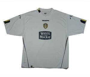 Leeds-United-2004-05-Authentic-Home-Shirt-eccellente-XXL-SOCCER-JERSEY