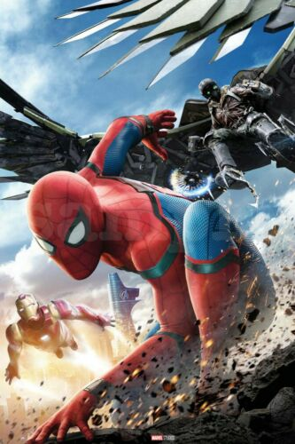 Spider-Man Far From Home Eßbar Tortendeko Tortenaufleger Party Deko Muffin Neu