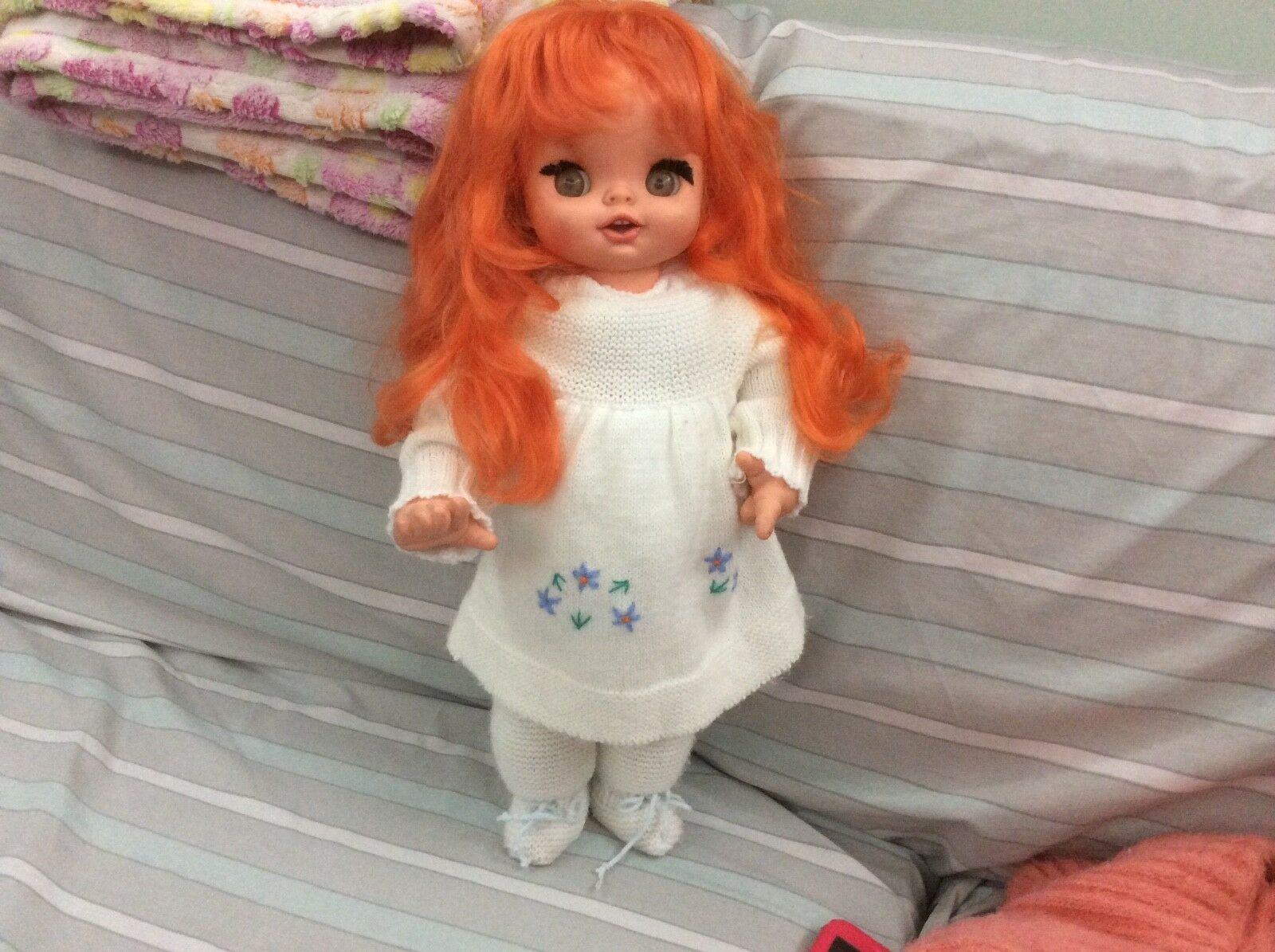 Furga Arabella capelli rossi soffici bambola vintage Doll bellissima anni 60