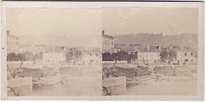 Ville A Identificare Stereo Vintage Albumina Ca 1865