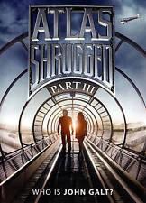 Atlas Shrugged: Who Is John Galt Part III 3 (DVD, 2015) - NEW!!