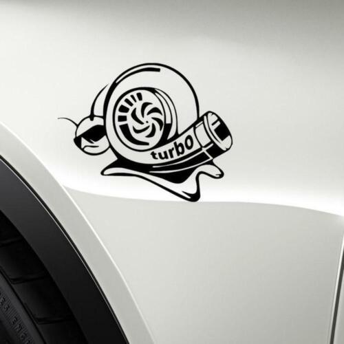 Turbo Aggressive Snail Design Fun Window Bumper Vinyl JDM Sticker 7.8CM x 14.1CM
