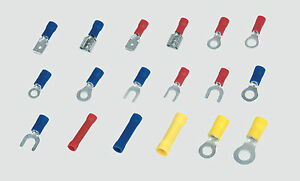 Mannesmann Terminals / Connectors Assortment 175 pcs <> Insulated / VPA GS TUV
